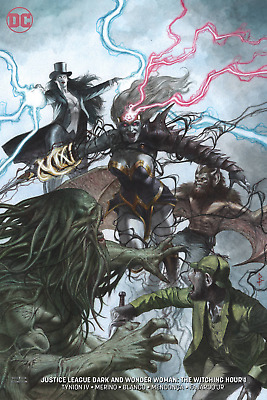 Justice League Dark & Wonder Woman The Witching Hour #1 Federici Variant Ed