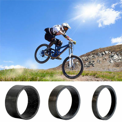 5 PCS  Round Mountain Cycling Bike Carbon Fiber Washer Bicycle Supporting Ring