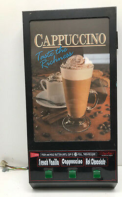 Cecilware GB3K, Superior Cappuccino Machine 3 Head, Door Panel, Used As Is