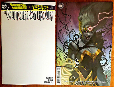 NM Federici Variant Wonder Woman Justice League Dark: Witching Hour #1 2018