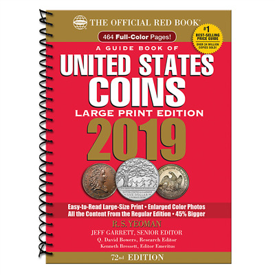 2019 Large Red Book Of US Coins Soft Cover Redbook IN STOCK AND SHIPPING