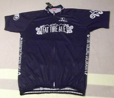 c7ac161c0ce NWT CAPO FAT TIRE Beer Cycling Race Jersey Bicycle Bike Shirt LARGE ...