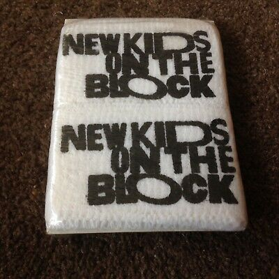 New Kids On The Block Vintage Ultra Rare 80's Unopened Sweatbands Still Sealed