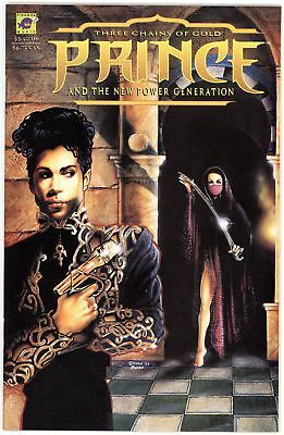 Prince and The New Power Generation: Three Chains of Gold (1994) #[nn] NM- 9.2