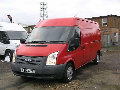 2013 FORD TRANSIT 300 2.2TDCi EURO 5 125PS FWD LWB MEDIUM ROOF PANEL VAN