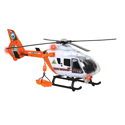 Dickie-Toys 203719004 - Rescue Helicopter, Spielzeughelikopter, Licht Sound