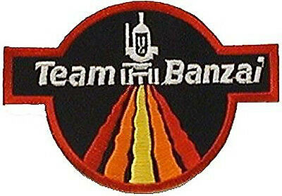 "Buckaroo Banzai Patch- Team Banzai  Logo 4"" Embroidered Patch-USA Mail (BZPA-03)"