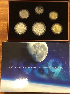 2019 Proof Set - 50th anniversary of the Moon landing