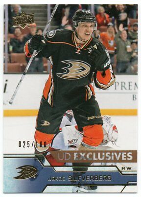 2016-17 Upper Deck Series 1 Exclusives /100 Pick Any Complete Your Set