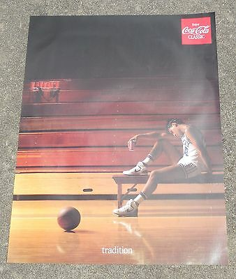 Coke Coca Cola Classic Poster Tradition Kentucky Basketball