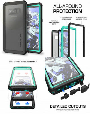 new styles 80564 caefc FOR GALAXY NOTE 8 Case | Ghostek NAUTICAL Heavy Duty Shockproof ...