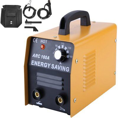 160 AMP Welder 230V AC ARC DC Welding Machine Weld w/ Free Mask Accessories BP