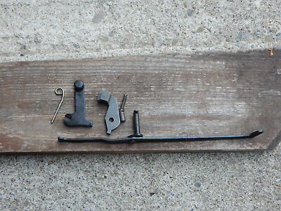 M1 CARBINE DISCONNECTOR KIT NOS LEVER SWITCH BLOCK & related small parts