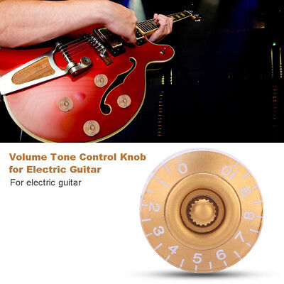 4Pcs 6mm Exquisite Copper Electric Guitar Speed Knobs Tone Volume Buttons Supply