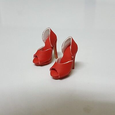 Fashion Royalty East 59th Constance Madssen Tangier Orange high heels Only