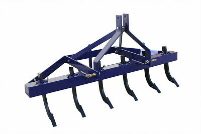 5Ft 1500Mm Multi Tyne Ripper For Tractor, 3 Point Linkage