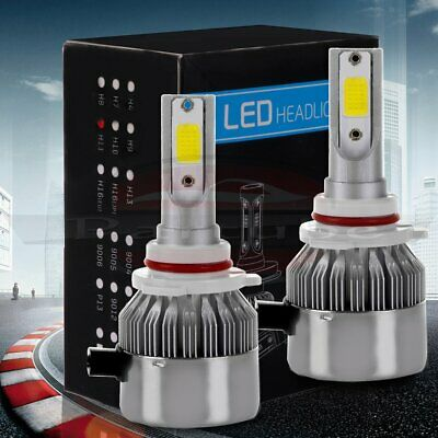 H8 H9 H11 1860W 279000LM CREE LED Headlight Low Beams 6000K White Lamp Bulb Pair