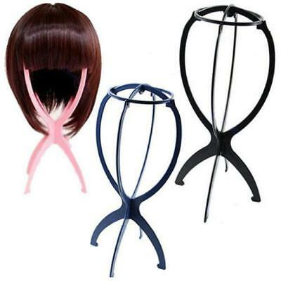 1PC Folding Stable Durable Plastic Wig Hair Hat Cap Holder Stand Display Tool SO