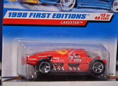 Hot Wheels LAKESTER 1998 First Edition Salt Flat Car very good condition HTF
