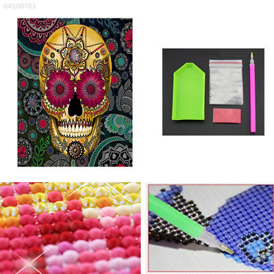 36C1 Skull Living Room Embroidery DIY Decorate Gift Diamond Painting Shining