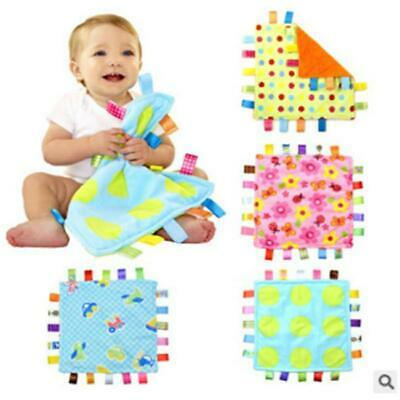 Baby Comforter Taggy Soft Security Blanket C