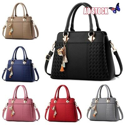 Ladies Handbag Work Bag Faux Leather Medium Shoulder Tote Bag Women Designer