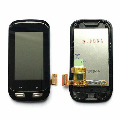 For Garmin Edge 1000 LCD Display Touch Screen Assembly Replacement Parts Black