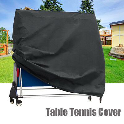 Full Size Ping Pong Table Storage Cover Table Tennis Waterproof Protector Sheet