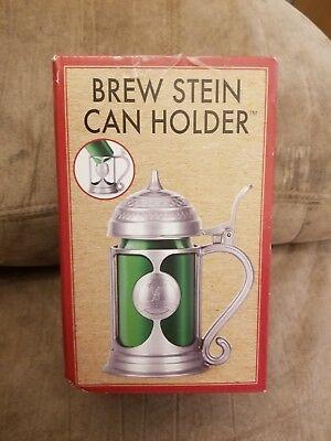 Brew Stein Can Holder: Convert Your Can Into A Stein: New In Box