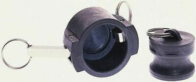 Crayford Plastic Products Coupler Dust Cap, Glass Coupled Polypropylene
