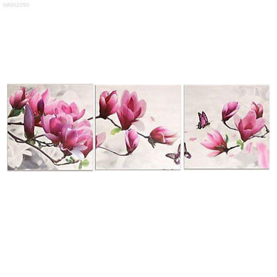 FE68 A859 2017 Floral Pictures Paint By Number DIY Art Wall Hanging Joint Canvas