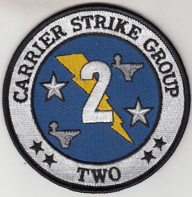 Carrier Strike Group Two Command Chest Patch