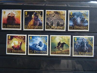 THE LORD OF THE RINGS - ISLE OF MAN stamps MNH 2003 - British stamps of Europe
