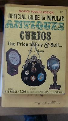 Official guide to popular antiques,: Curios: the price to buy & sell  1973