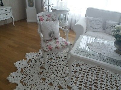 Alter Chippendale Sessel im Shabby Chic