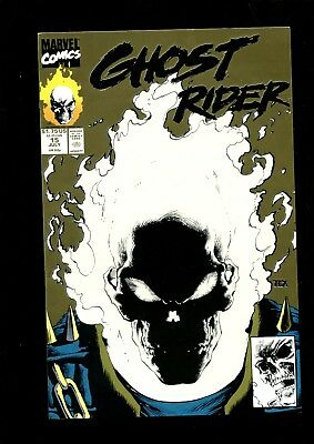 GHOST RIDER 15 (9.4) GOLD EDITION GLOW IN THE DARK MARK TEXEIRA  MARVEL (b002)