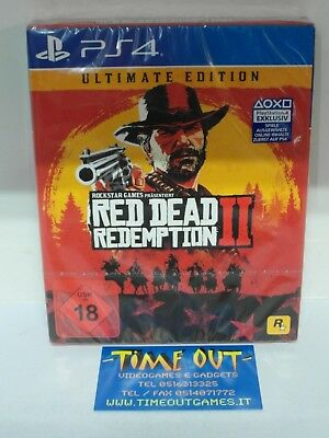 Red Dead Redemption Ii 2 Ultimate Edition Sony Ps4 Nuovo