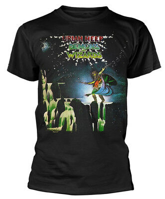 Uriah Heep 'Demons And Wizards' (Black) T-Shirt - NEW & OFFICIAL!