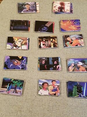 140 Tenchi Muyo Collector Cards