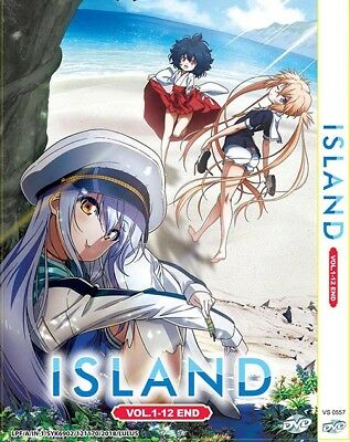 Island (Vol.1-12End) English Dubbed (DVD) Free Shipping