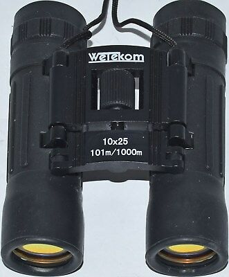 (499) Wetekom 10X25 Binoculars With Protective Case (Used)