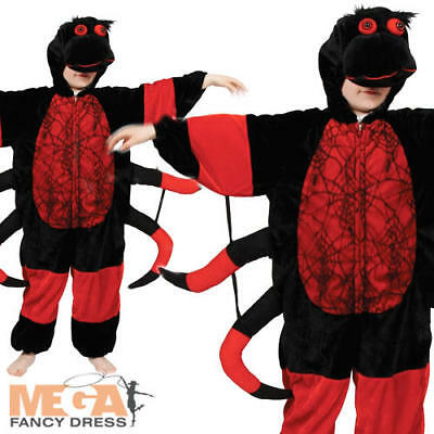 Spider Kids Insect Animal Fancy Dress Child Boys Girls Costume Outfit 3-11 Years