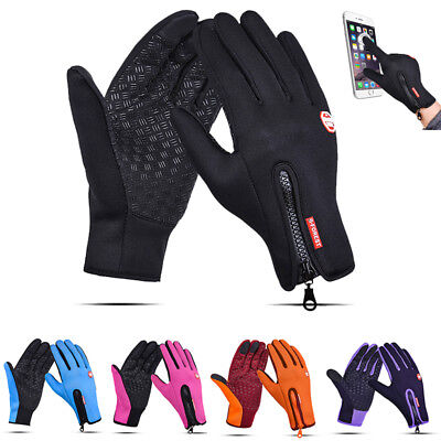 Touch Screen Gloves Thermal Warm  Running Skiing Cycling Gloves Windproof Unisex