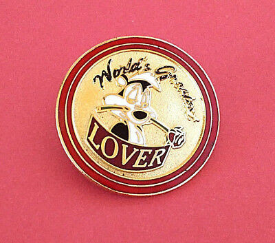 Pepe Le Pew Pin Vintage World's Greatest Lover Metal Pinback