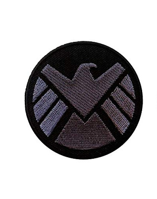 Marvel Agents of S.H.I.E.L.D. Avengers Logo Iron-On Patch cosplay party SHIELD