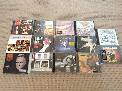 Green Day, Smiths, The Cure Etc.. CD Music Bundle