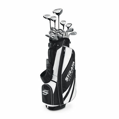 Callaway Mens Strata Ultimate 18-Piece Complete Golf Set with Bag Right Handed