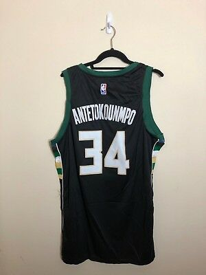 3592605bf ... netherlands look for 910d0 2b2a3 nwt giannis antetokounmpo 34 milwaukee  bucks black jersey mens 57b75 3410c ...
