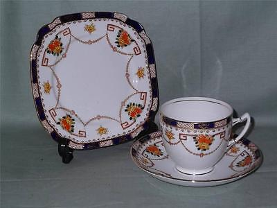 Vintage Standard Bone China Trio Cup Saucer & Side Plate  Imari Pattern No. 6079