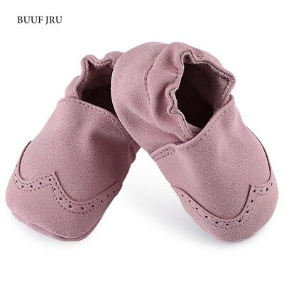 Brief Style Soft Sole Solid Slippers For Newborn Toddlers Infant Babies